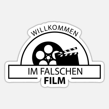 Falscher Film Falscher Film - Sticker