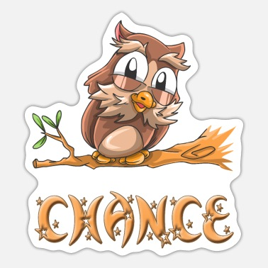 Chance Eule Chance - Sticker