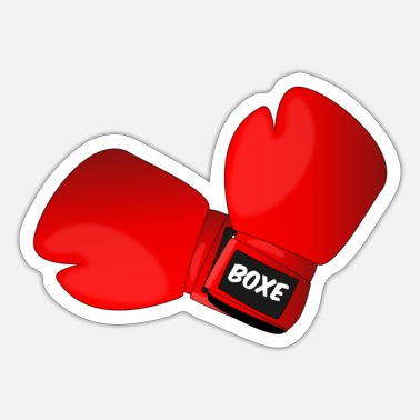 Boxing Gloves Red boxing gloves boxing gloves - Sticker
