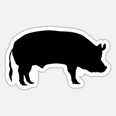 So Pig / so - Sticker