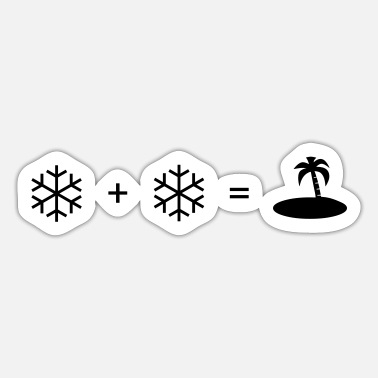 Snow snow + snow - Sticker