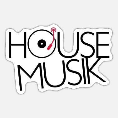 House HOUSE MUSIC / House Music - Sticker