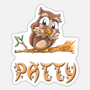 Patty Owl patty - Sticker
