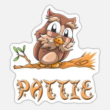 Patty Owl Pattie - Sticker