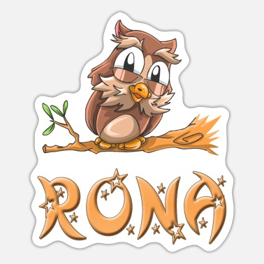 Rona Owl Rona - Sticker