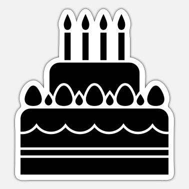 Birthday Cake - Birthday - Sticker