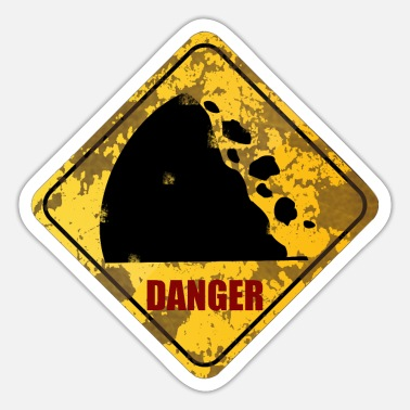 Danger Danger - Sticker