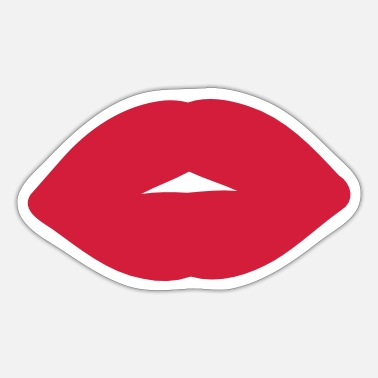 Vector Underwear red_lips2 - Sticker