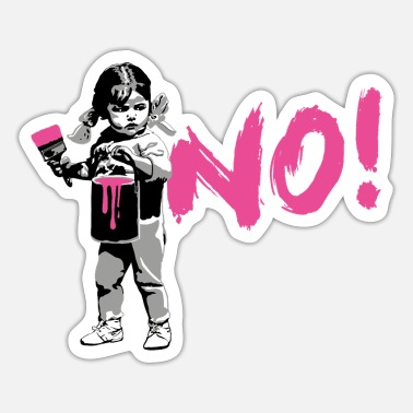 Frauentag GirlPower NO! - Sticker