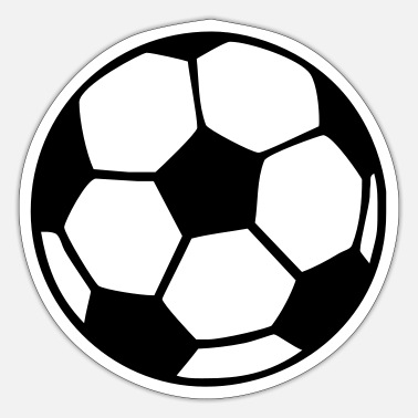 Soccer soccer ball - Sticker