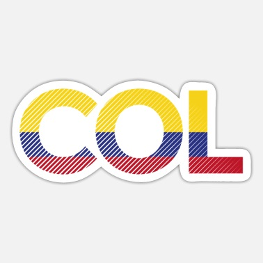 Colombia - Sticker
