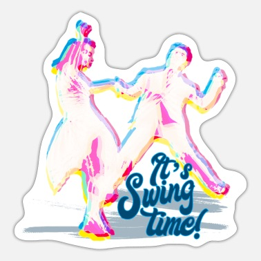 Danza Swing Time - Sticker