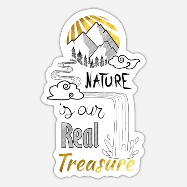 Nature nature's treasure - Sticker