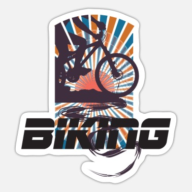 biking - Sticker
