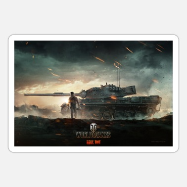 World of Tanks WoT Epic Fight - Sticker
