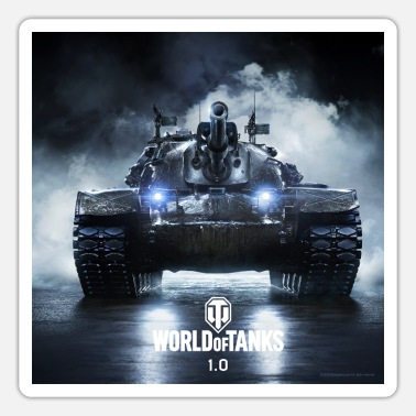 World of Tanks WoT M48A5 PATTON - Autocollant