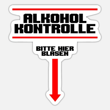alcohol - Sticker
