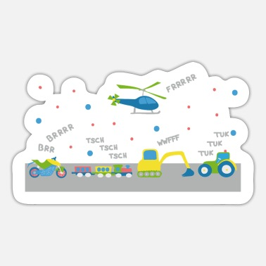 Toddler Vehicle concert for toddlers - Sticker