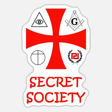 Sammenslutning Secret Society - Sticker