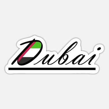 Arabia Dubai Arabia - Sticker