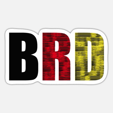 Brd BRD - Sticker