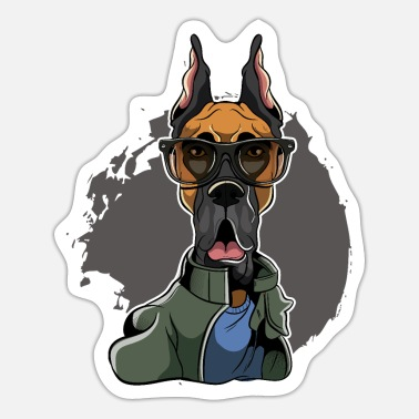 Great Dane Great Dane - Great Dane - Sticker