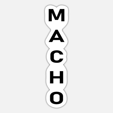 Macho macho - Sticker