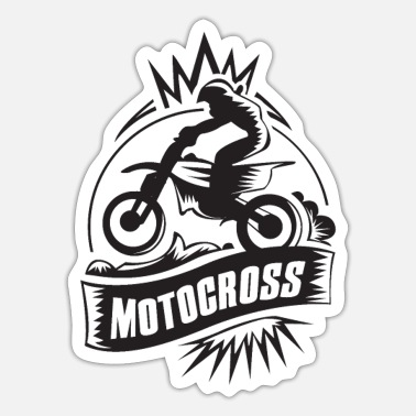 Motocross Motocross - Sticker