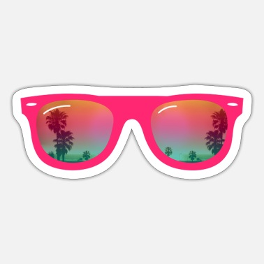 Sunglasses Sunglasses - Sunglasses - Sticker