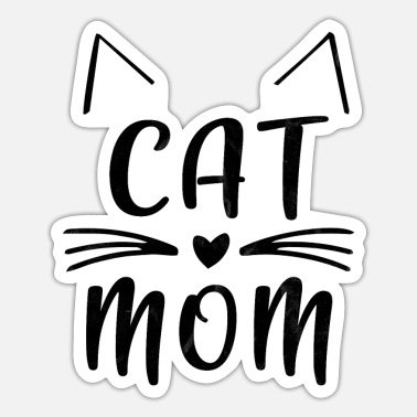 Cat Lady cat lady - Sticker