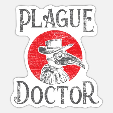 Pest Pest doctor - Sticker