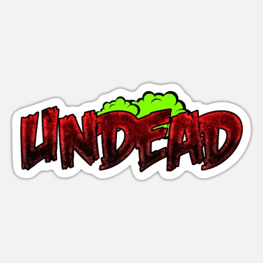 Undead Undead - Undead Comic - Sticker