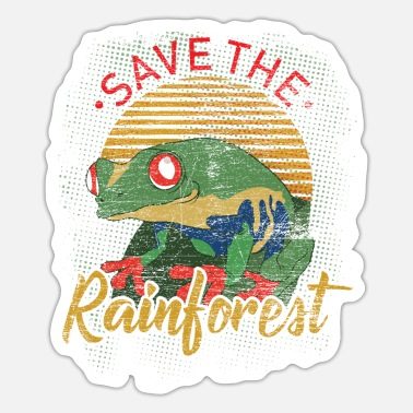 Nature Conservation Rainforest Earth Day Nature Conservation Nature Animals - Sticker