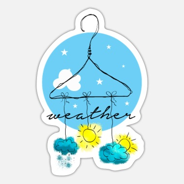 Weather Weather, Weather, Wetter - Sticker
