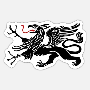 Rostock Rostock Griffin Black Rostock - Sticker