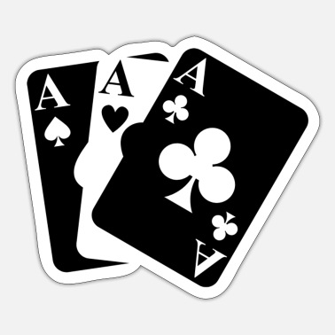 Playing Cards playing cards - Sticker