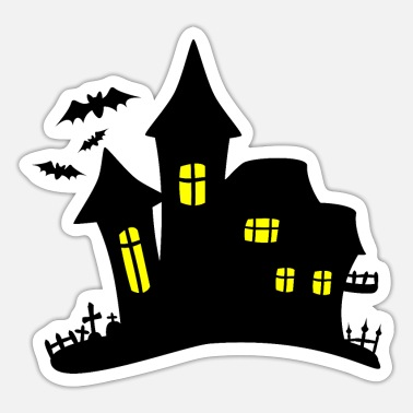Haunted House haunted house haunted house - Sticker