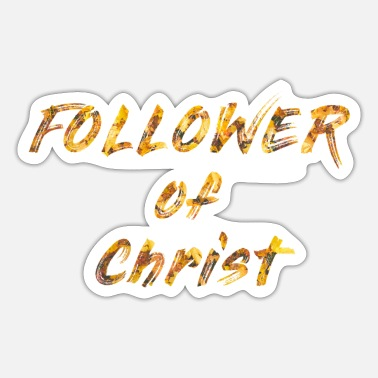 Christ-follower Follower of Christ - Sticker