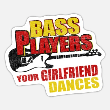 Bas Bas bass - Sticker