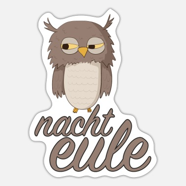 Nachteule Nachteule - Sticker