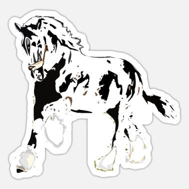 Hingst Shire Horse hingst - Sticker