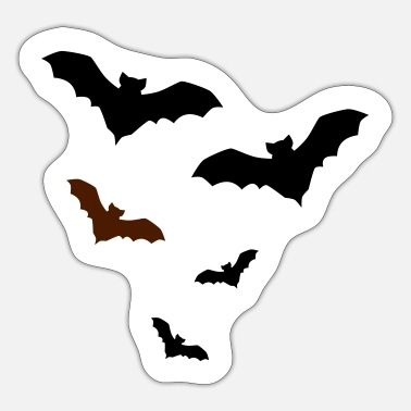 Bat Bat bats - Sticker