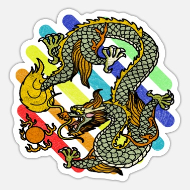Mythical mythical creatures - Sticker