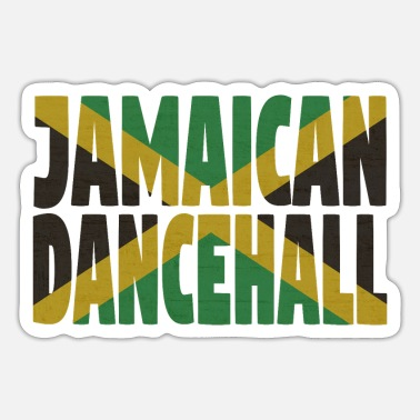 Dancehall Jamaican dancehall - Sticker