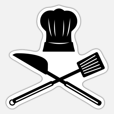 Apron Cook Apron - Sticker