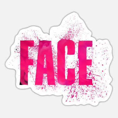 Face Face - Sticker