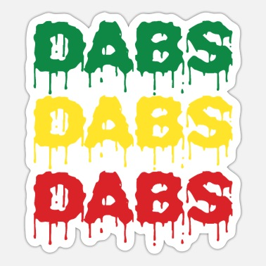 Dab Dabs Dabs Dabs - Sticker