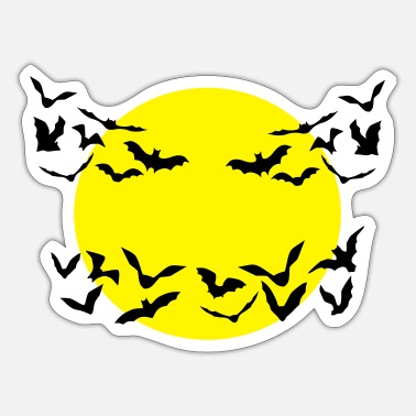Bat Bats, Bat - Sticker