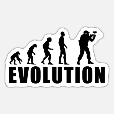 Paintball EVOLUTION PAINTBALL Geschenk - Sticker