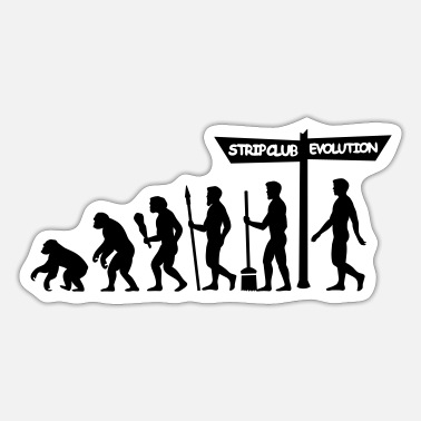 Brothel Evolution - Stag Night - Sticker